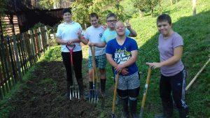 Urejanje šolskega vrta