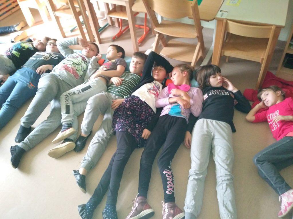 Sproščanje, učenci 1. – 4. razreda