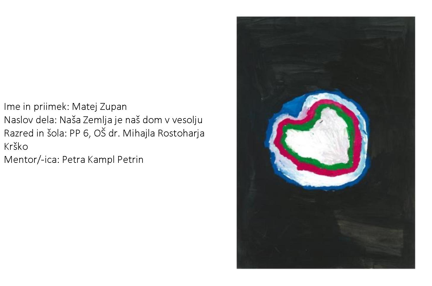 Učenec Matej Zupan prejel posebno nagrado na državnem natečaju Evropa v šoli