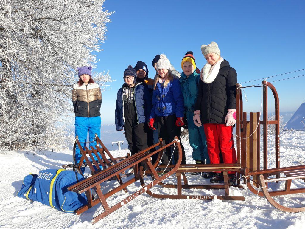 ZIMSKI ŠPORTNI DAN – igre in veselje na snegu