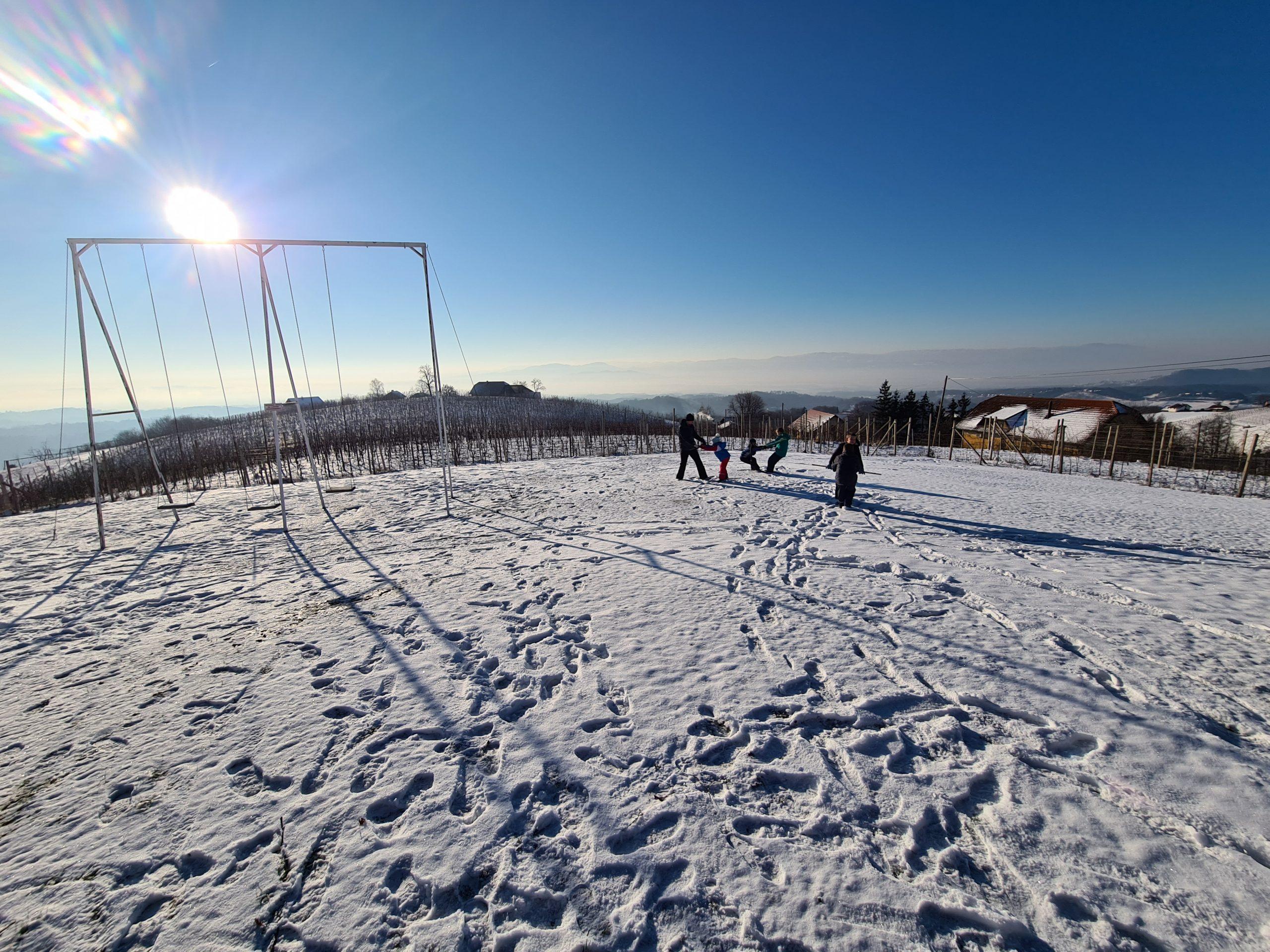 Zimski športni dan – 2. in 3. razred